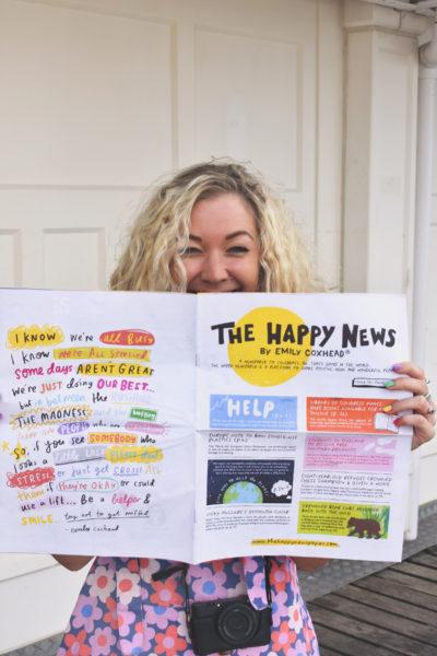 The Happy Newspaper Mortons Prinrt