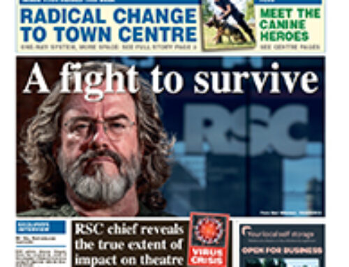 Historic Stratford Herald saved out of administration by Edward Iliffe and Peter Fowler
